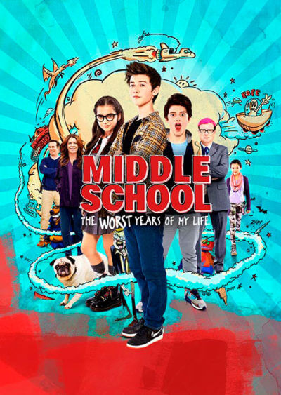 Middle School – The Worst Years of My Life