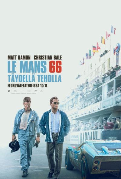 Le Mans 66 – täydellä teholla